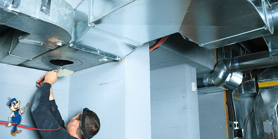 Air Conditioning Flexible Duct : Different types of ducts for central air conditioning