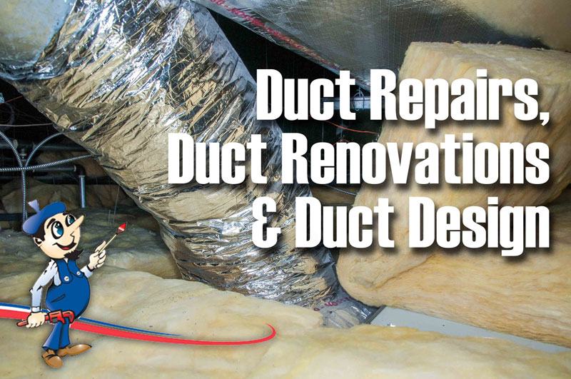 Ducts Attics Duct Repairs Duct Renovations Duct-Design