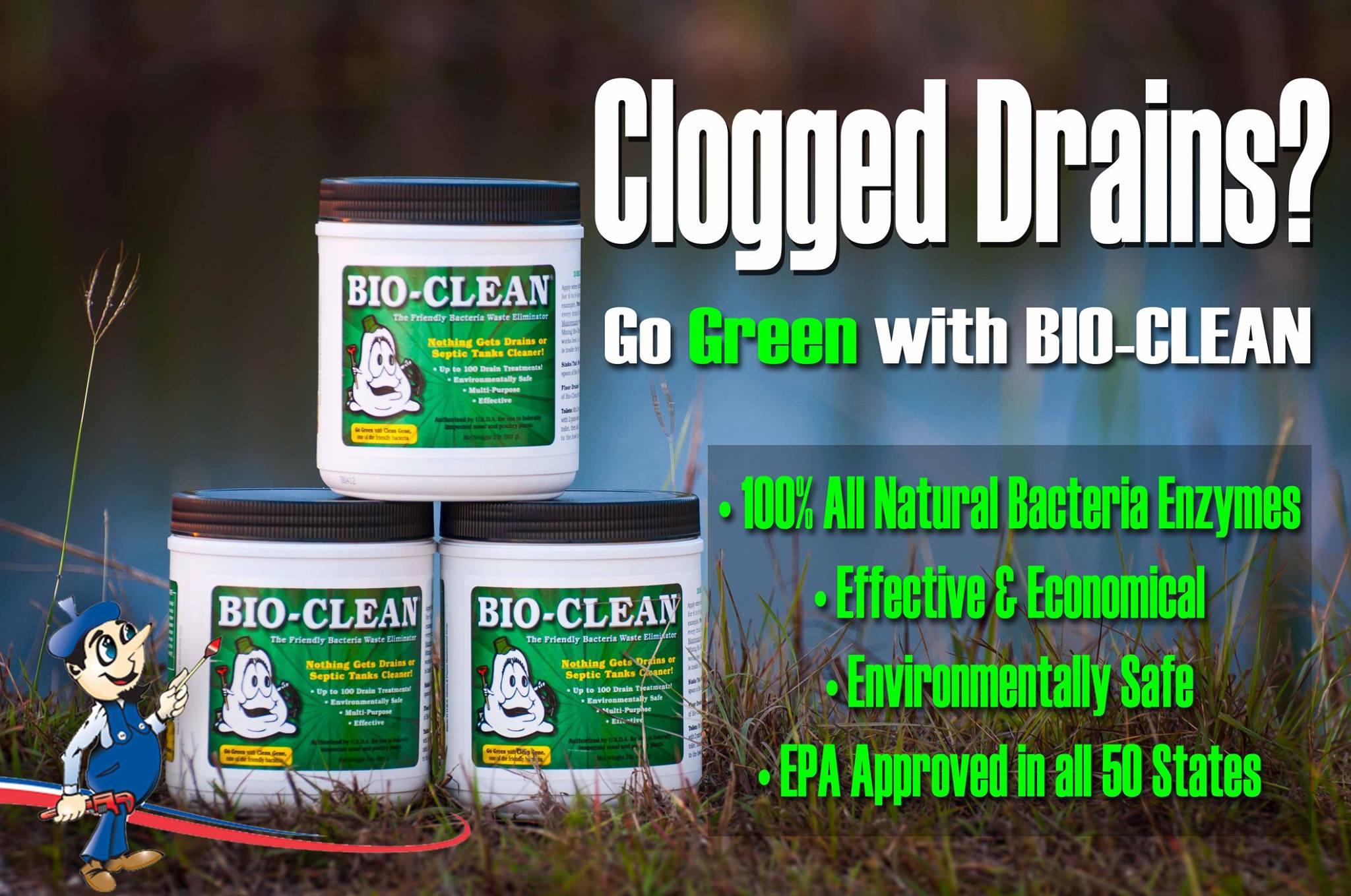 drain cleaning bioclean