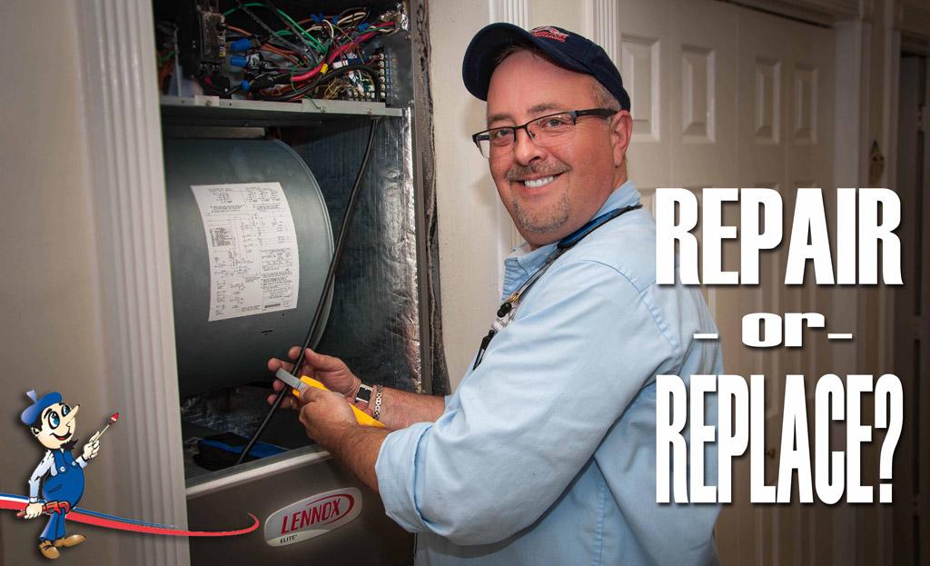 Repair or Replace ac unit