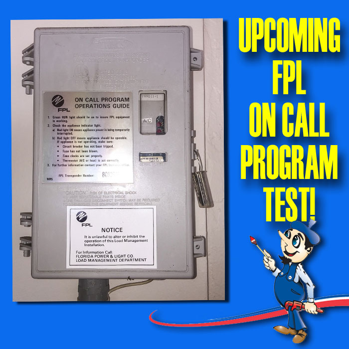 Fpl On Call Program Power Interruption Or Ac Troubles