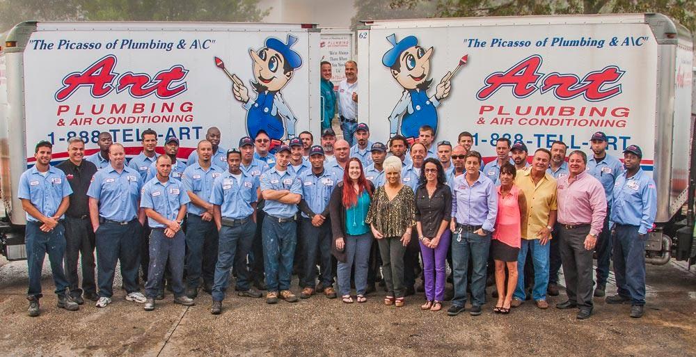 ART Plumbing AC & Electric employees
