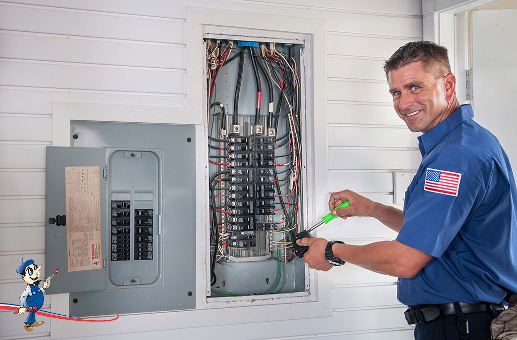 Art Plumbing, AC & Electric: Electrical Services