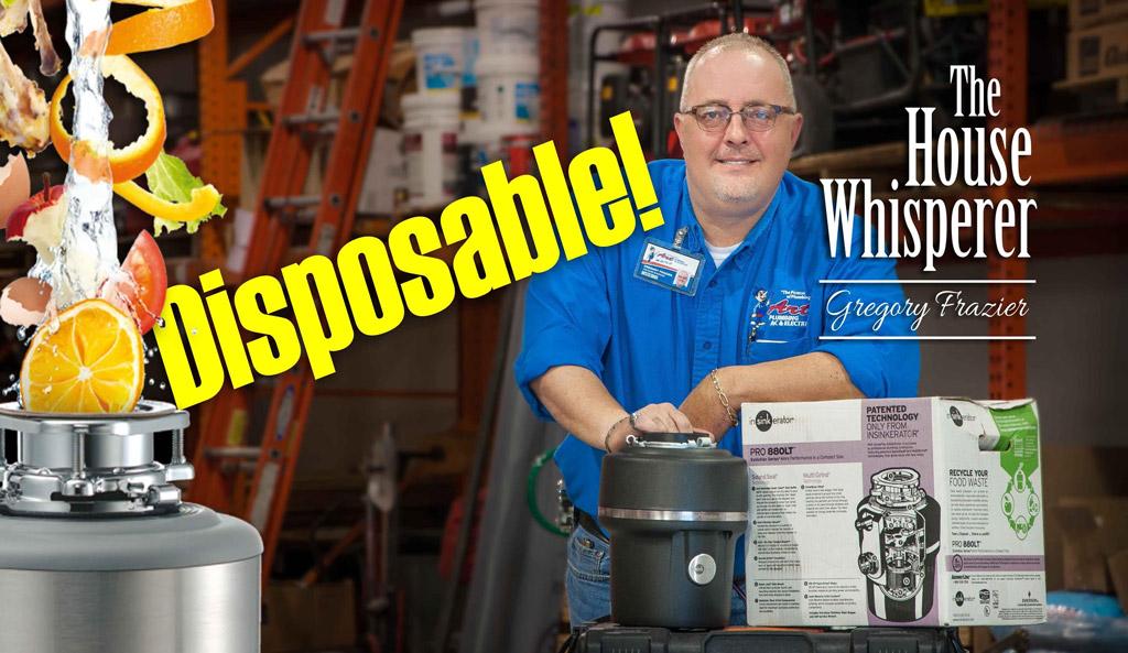 garbage disposal disposable