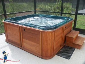 hot tub electrician