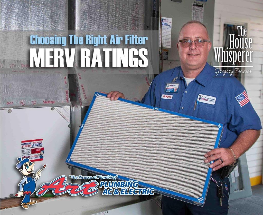 merv ratings - air filters
