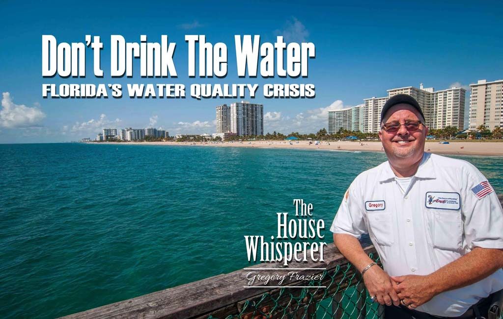 dont drink the water - water quality