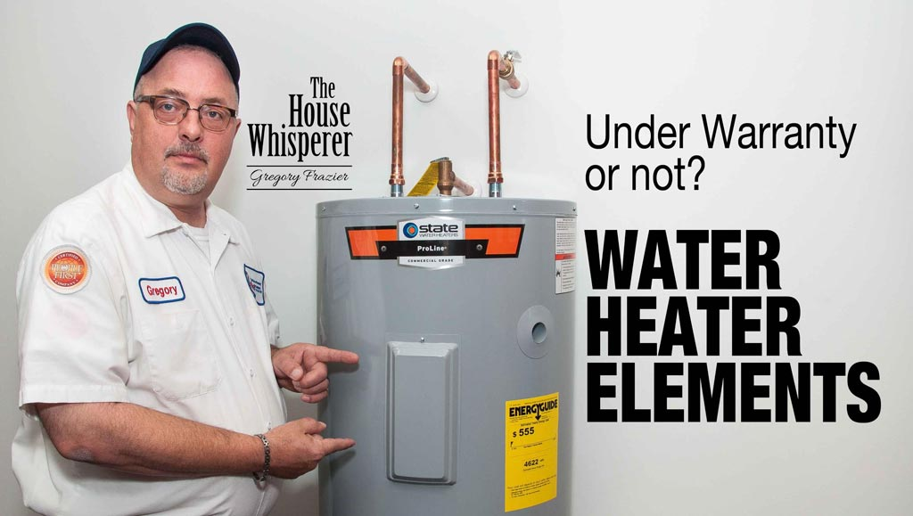 What Are Water Heater Elements And Are They Covered Under Warranty