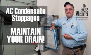 ac condensate stoppages