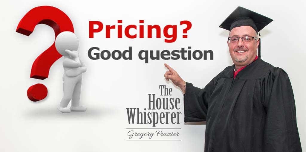 pricing good question