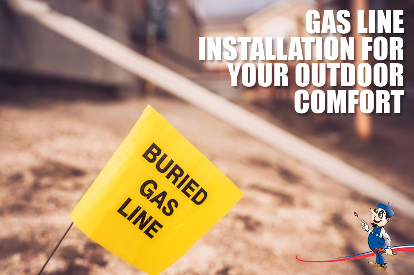 Gas Line Installation To Make The Most Of Your Outdoor Space