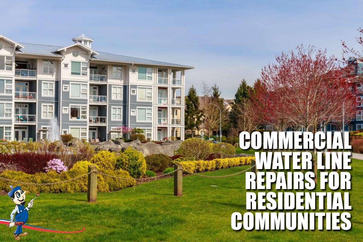 commercial water line repairs