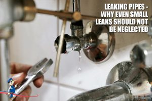 Leaking pipe