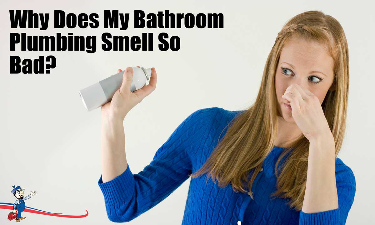 Is Your Bathroom Plumbing Behind the Persistent Smell?