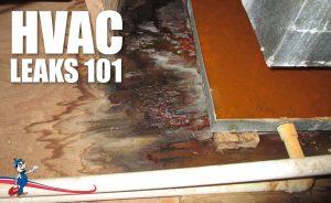 HVAC leaks