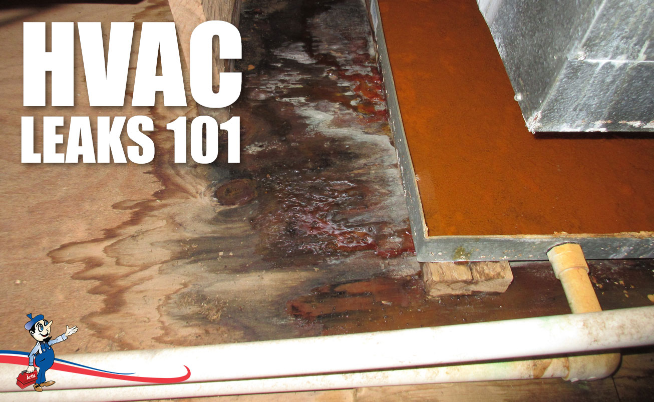 Common Causes Of HVAC Leaks And How To Spot Them