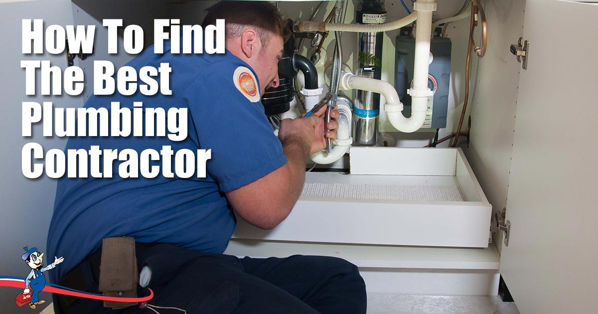 How to find a great plumbing contractor in your area for Find a builder in your area