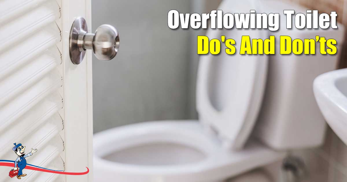 How To Stop An Overflowing Toilet Do S And Don Ts
