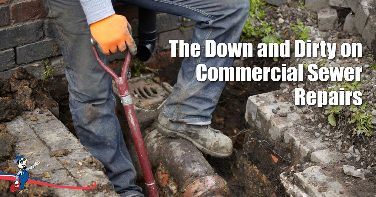 commercial sewer repairs