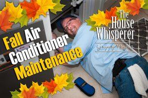Fall Air Conditioner Maintenance