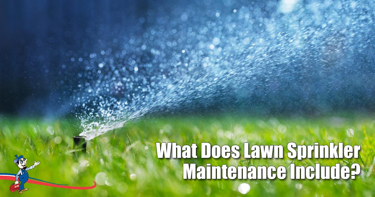 Lawn Sprinkler Maintenance