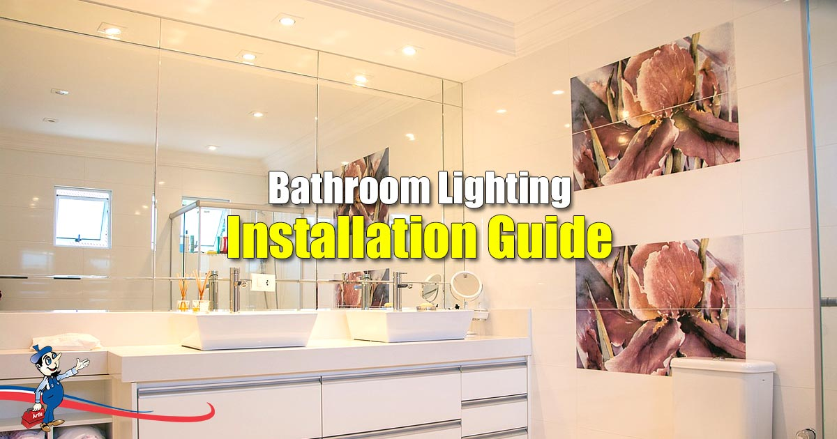 Bathroom Lighting Installation