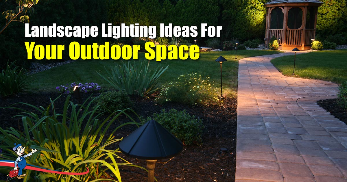 Landscape Lighting Ideas To Light Up
