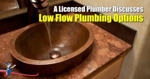 Low Flow Plumbing
