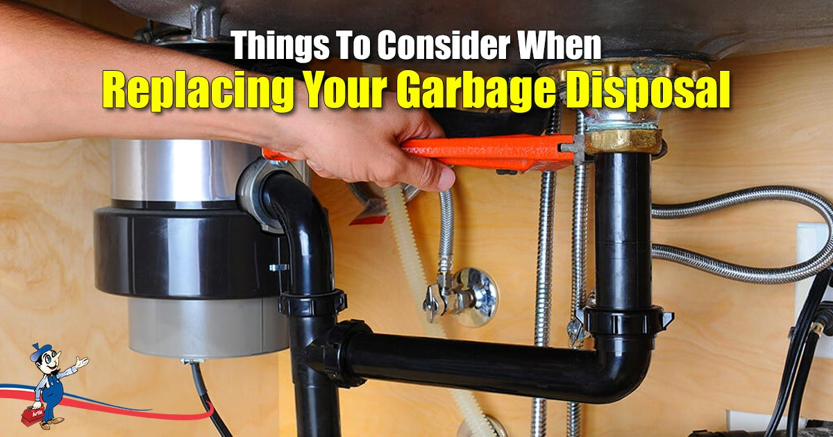 Replacing Your Garbage Disposal