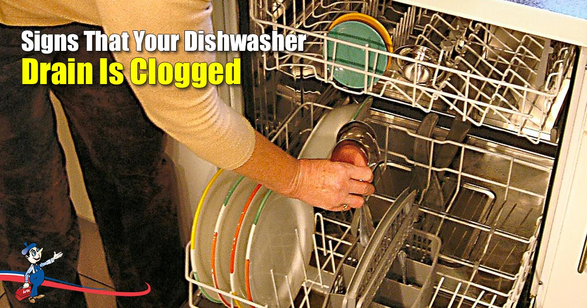 Dishwasher Drain Is Clogged