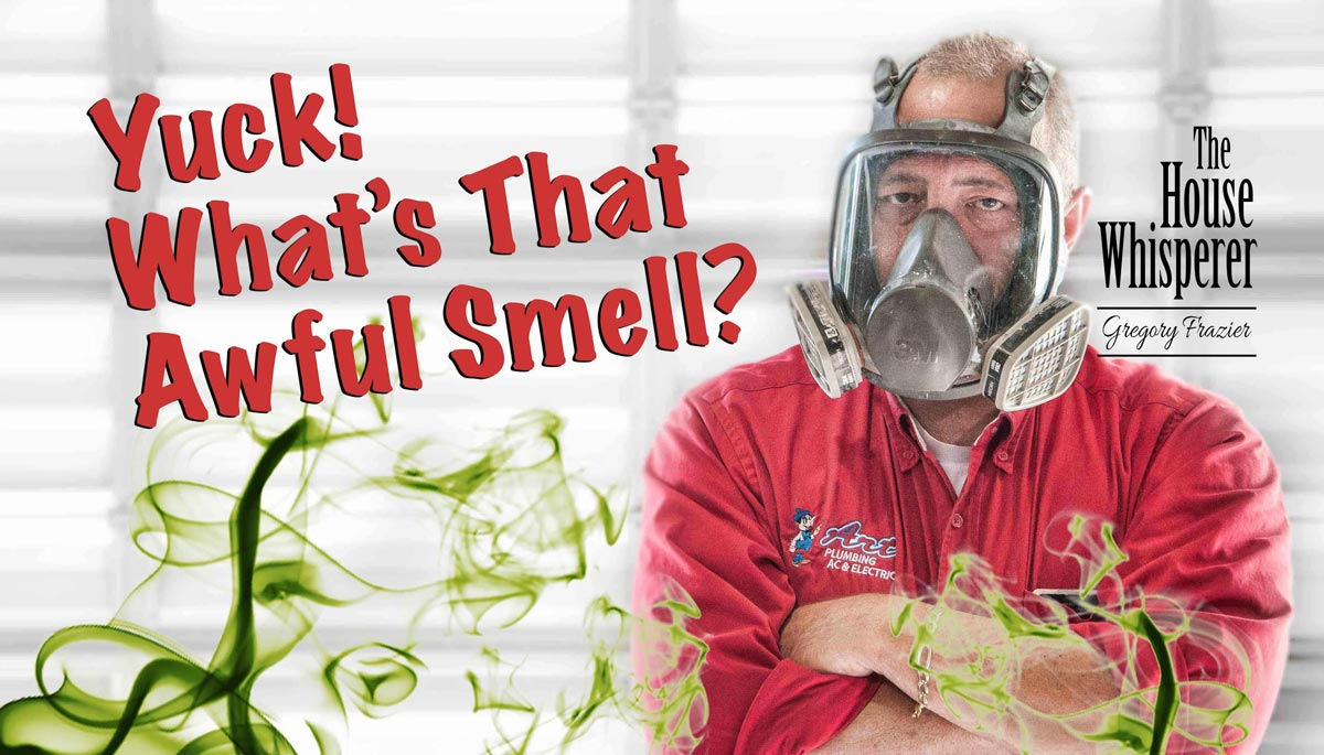 Is A Drain Blockage Causing An Awful Smell In Your Home