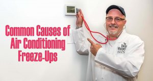 common causes of ac freeze ups