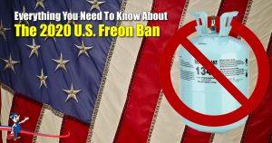 2020 U.S. Freon Ban
