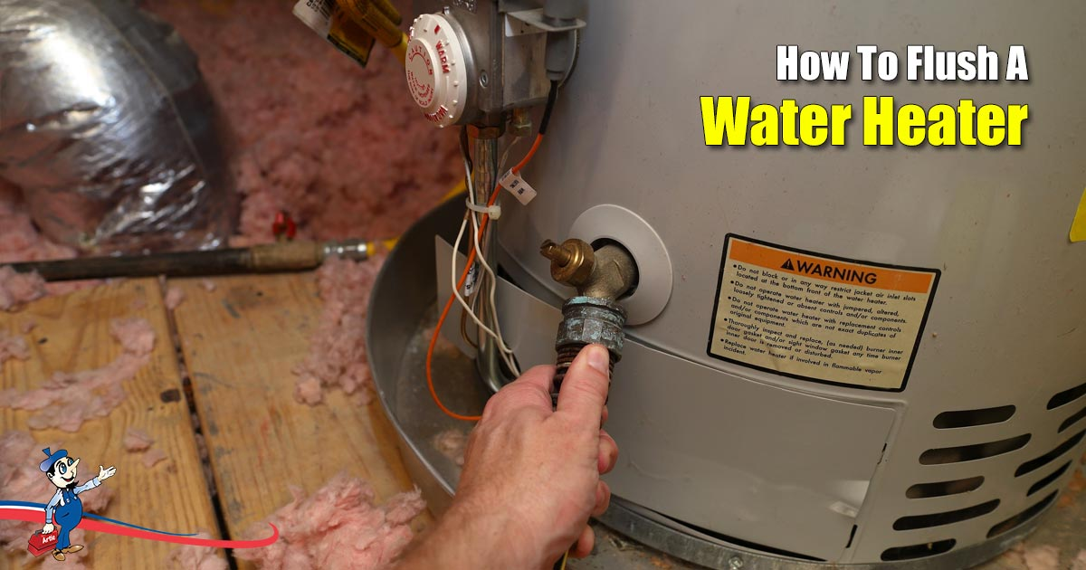 How To Flush Your Water Heater The Right Way
