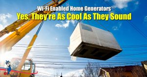 Wi-Fi Enabled Home Generators
