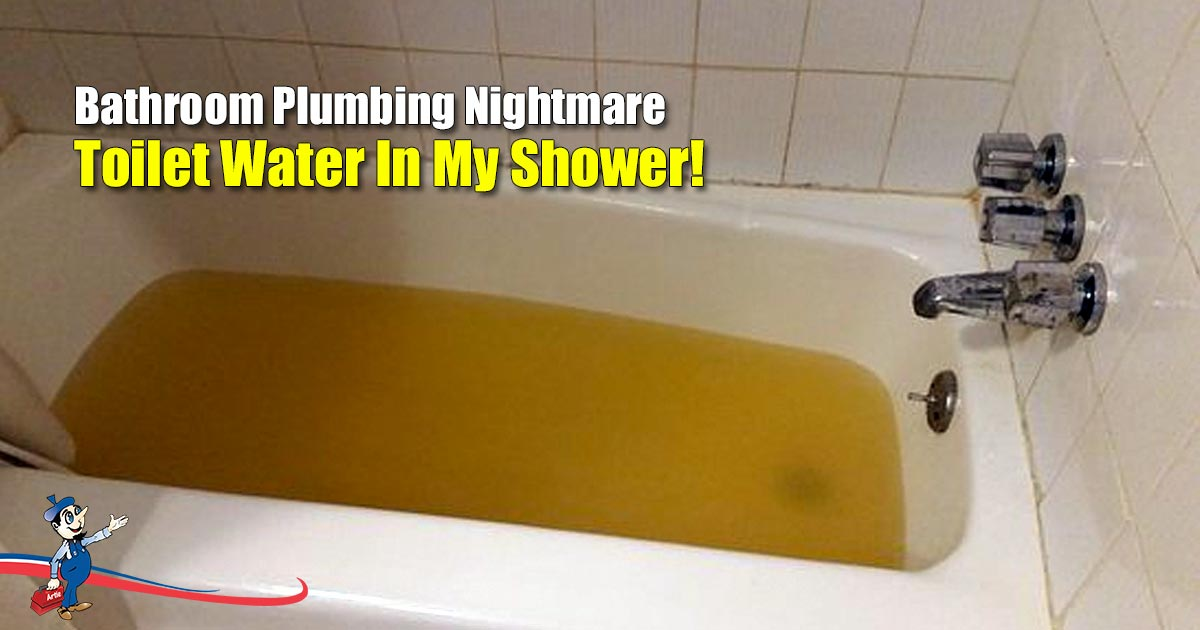 Bathroom Plumbing Nightmare