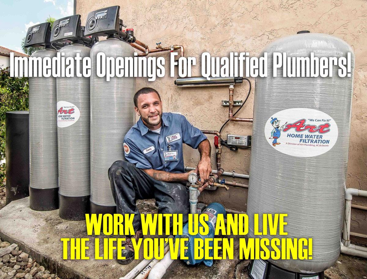 hiring plumbers