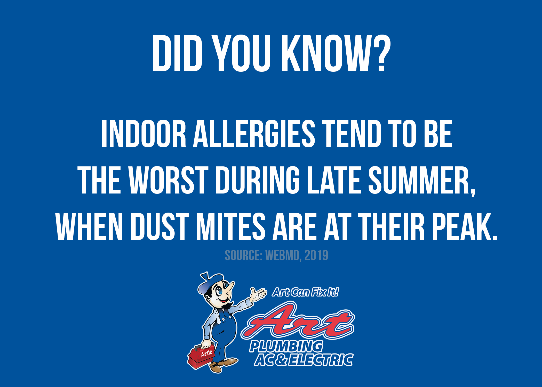 Did You Know Indoor Allergies Are Worst During Summer?