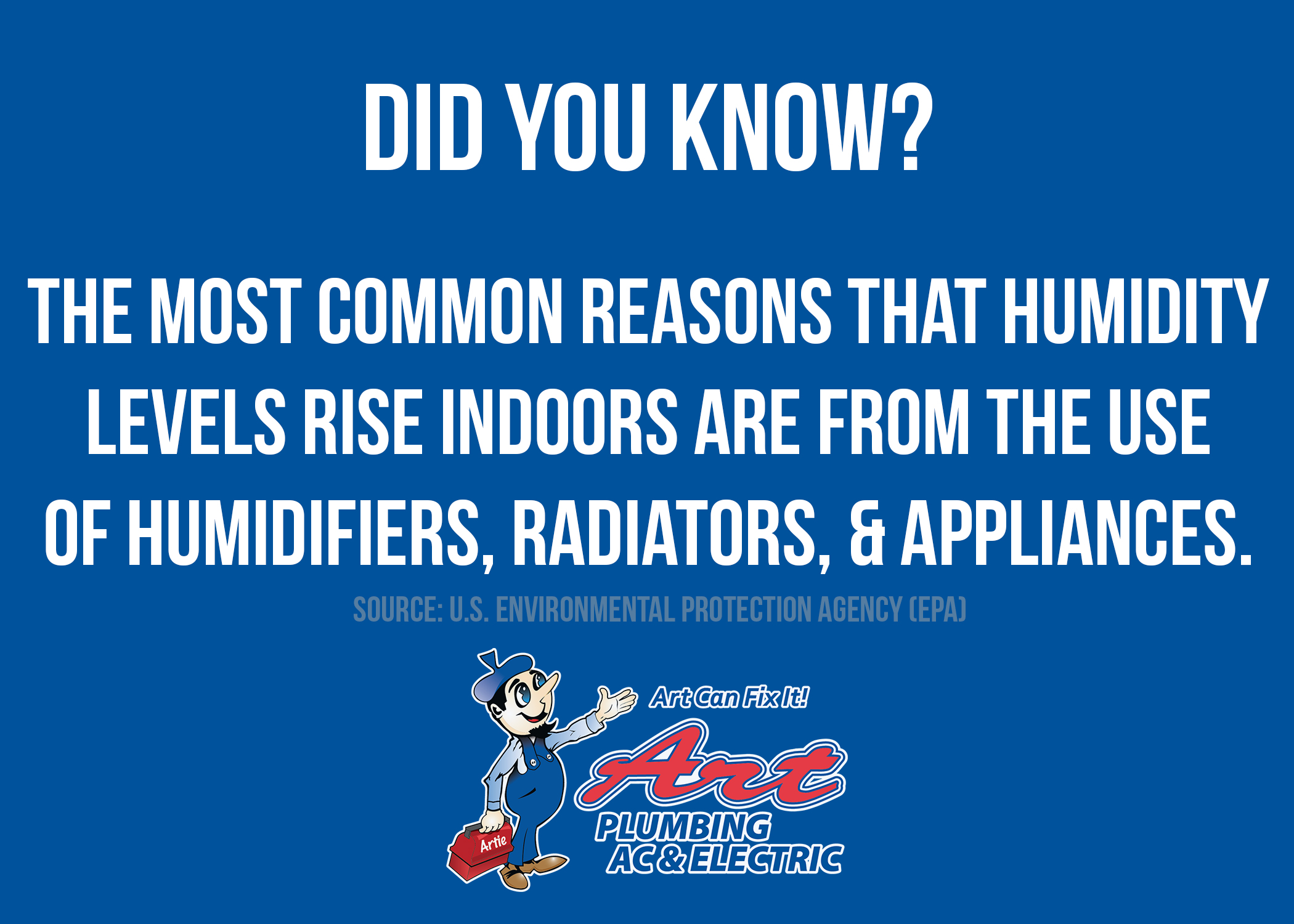 Did You Know The Most Common Reasons Humidity Levels Rise