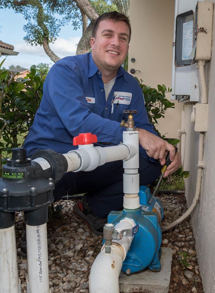 Sprinkler Pump Installation