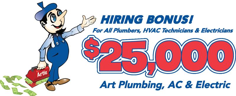 Art Hiring Bonus