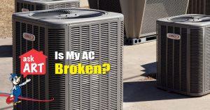AC fan broken