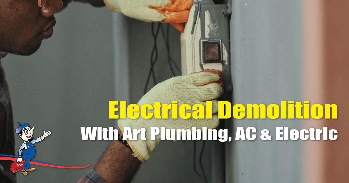 electrical demolition