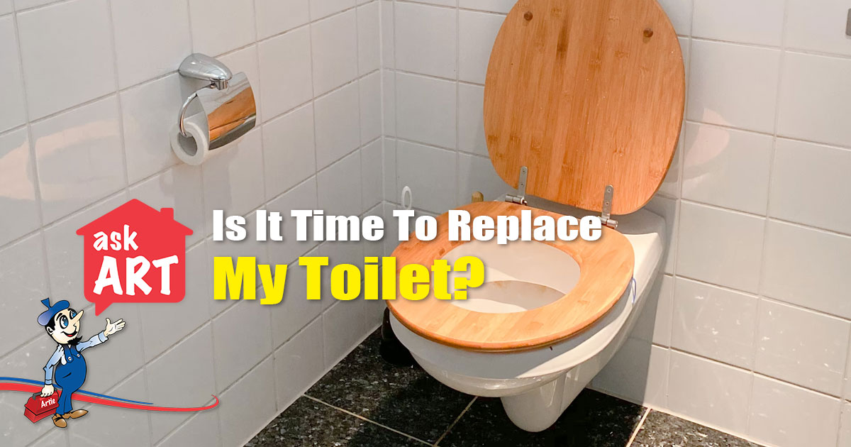 replace my toilet
